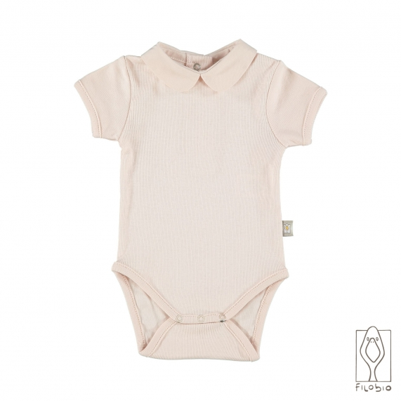 Baby bodysuit in organic cotton