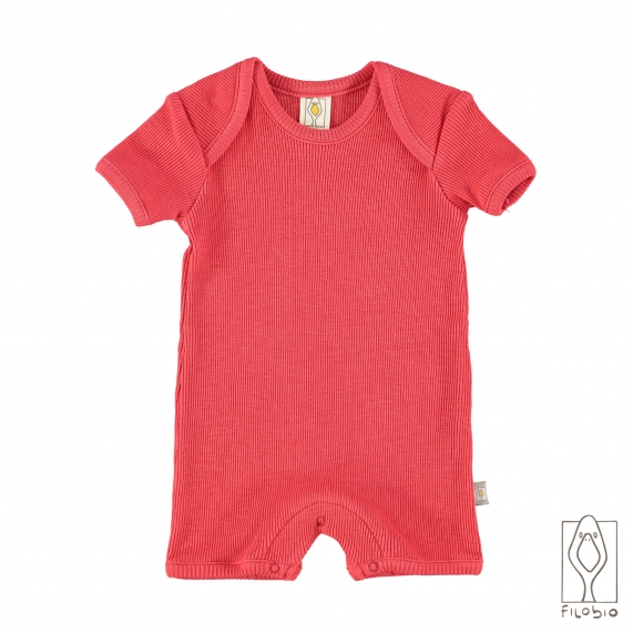 """Lido"" baby romper in organic cotton"