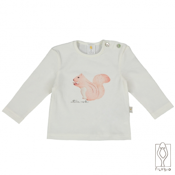T-shirt for baby in organic cootton