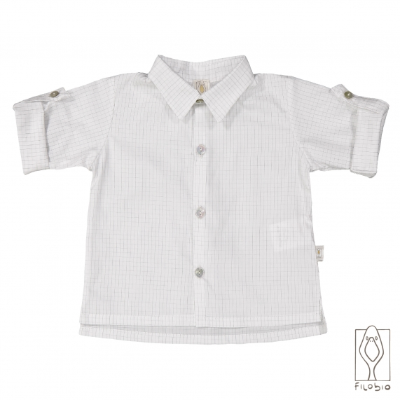 Camicia bimbo con colletto