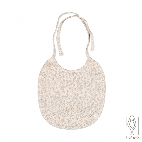 Baby Bib with pocket in organic cotton