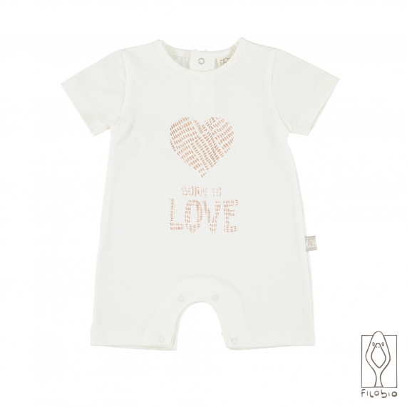 Baby rompers in organic cotton