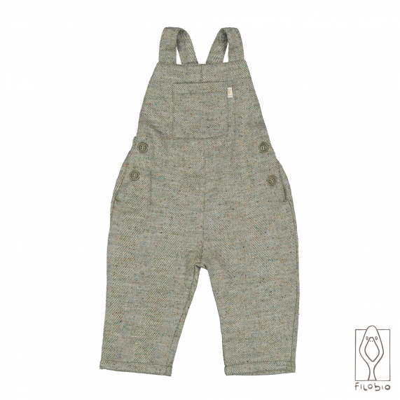 Baby overalls in organic cotton
