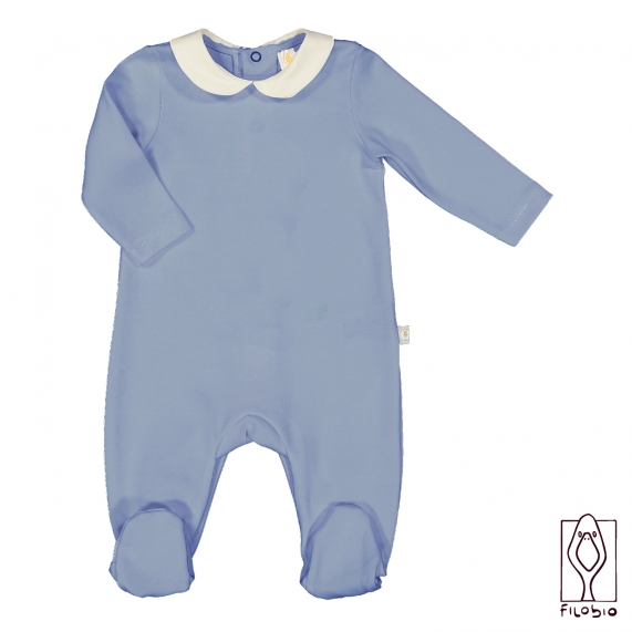 Baby onesie in organic cotton